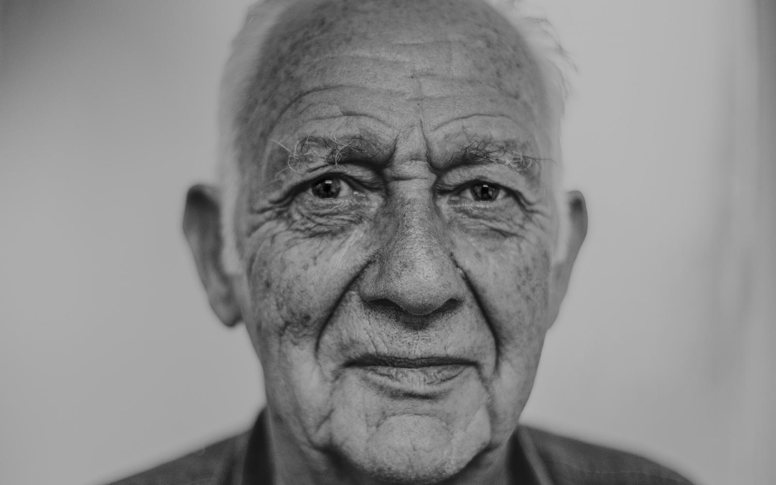 Old man's portrait